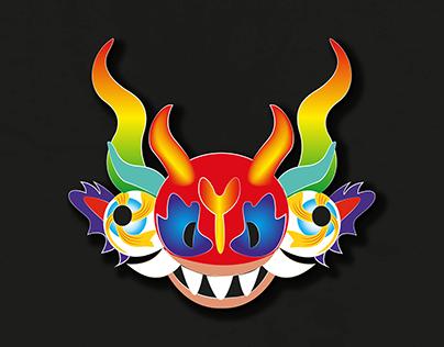 Máscara de la Diablada