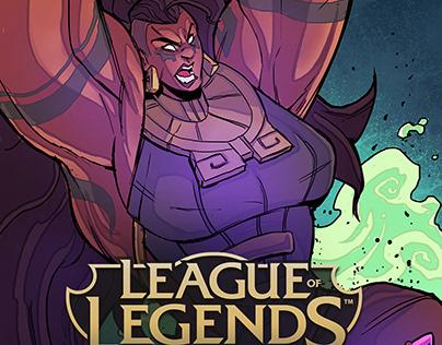 Riot Games Work - League Of Legends