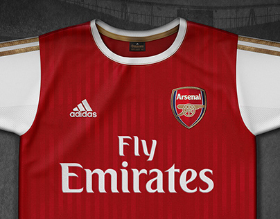Arsenal / Adidas - Football shirts concept design