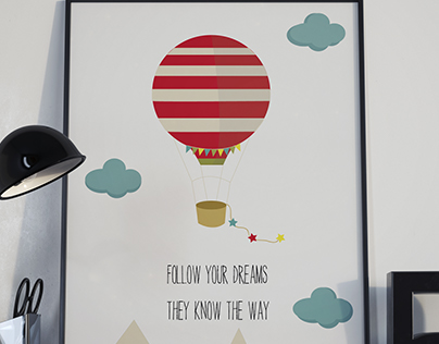 Poster about dreams