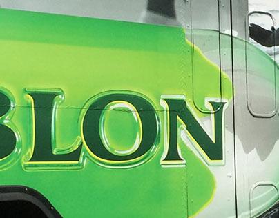 Leblon double-decker buses