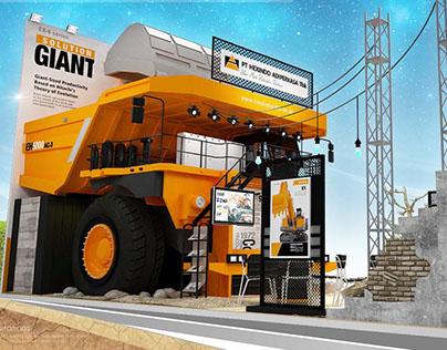 Kontraktor Pameran - Hexindo @Mining Expo 2015
