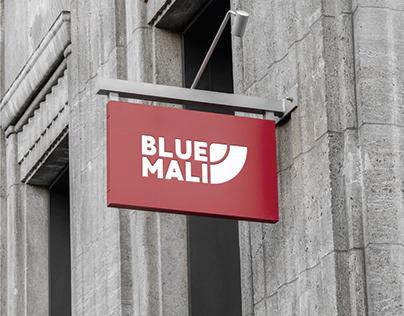 Blue Mali   Logo Design + Mockups