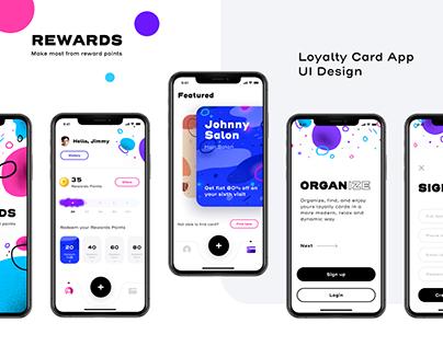 Rewards Mobile App UI Design