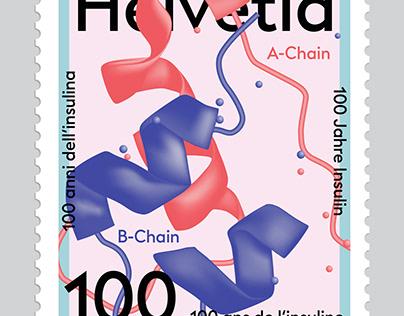 Stamp – 100 years insulin