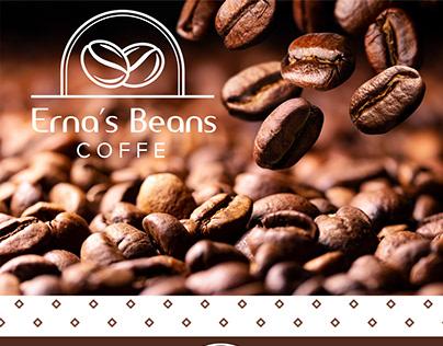 Erna's Beans   Branding