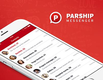 PARSHIP Messenger UI