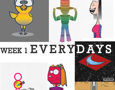 Everydays Project - Week 1