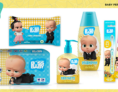 Baby Personal Care - Dreamworks Animation