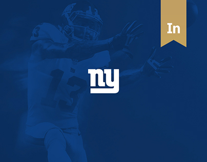 New York Giants - Web Design