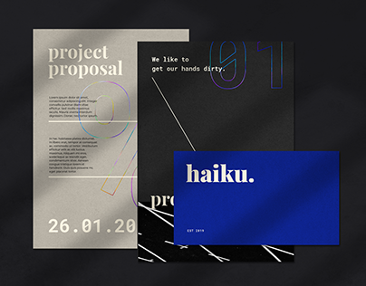 Visual Identity for Haiku Design House