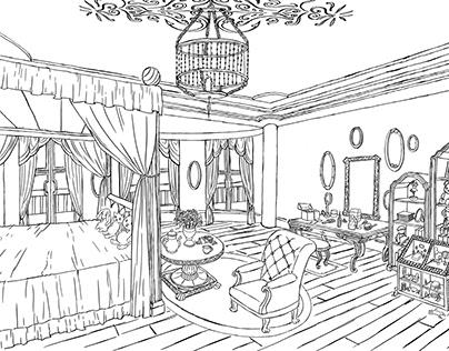 Marian's room