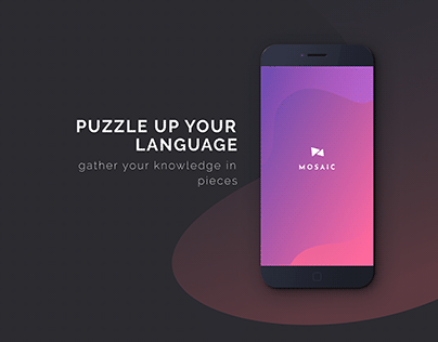 Mosaic   App Design for learning languages