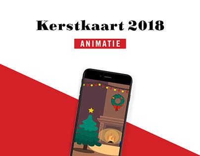 Kerstkaart van 2018 Animatie