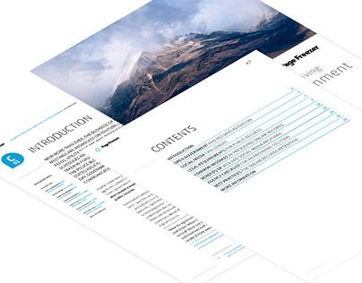 Corporate document design Pagefreezer