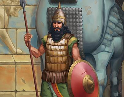 "Illustration ""Ancient Assyrians"""