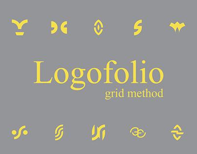 Logofolio / grid method