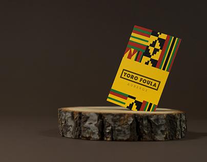 Brand development for a Senegalese hotel Customer