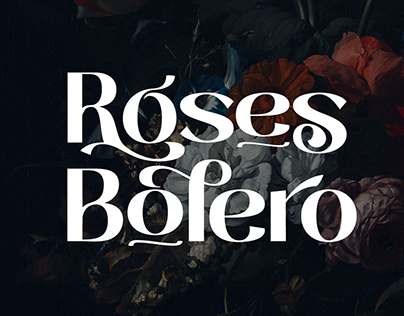 Roses Bolero TP Font Family with 9 weights