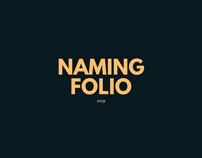 Naming Folio / Redacción / 2019