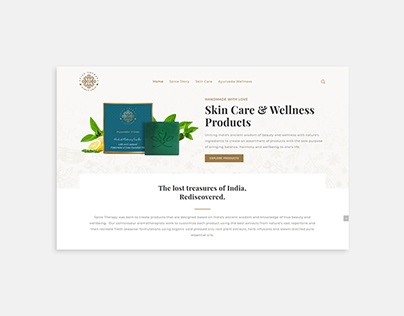 SPICE THERAPY   WEBSITE DESIGN