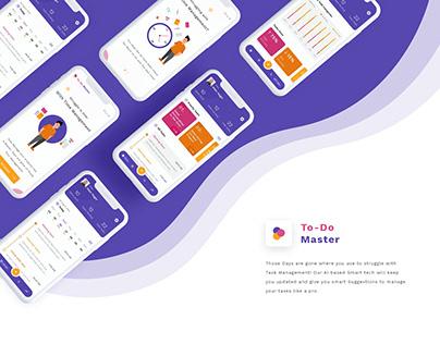 TODO list app design and interaction design