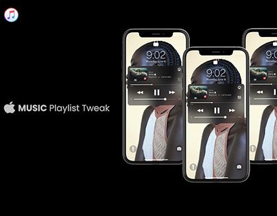 Apple Music Playlist Tweak