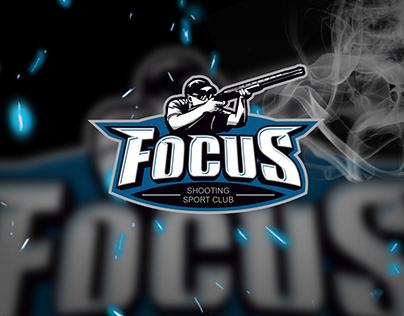 Logo design for a schooting sport club