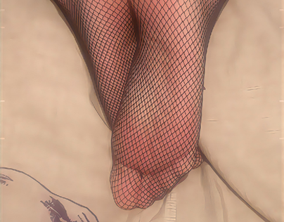 fishnets feet