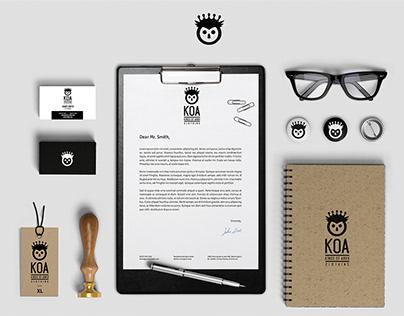 KOA Brand design