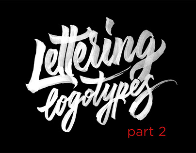 Lettering Logotypes Part 2