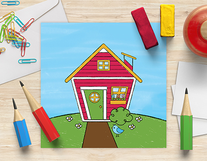 Digital Illustration for Happy Wendy House