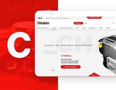 Chabin.pl | e-commerce Webdesign