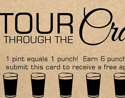 Tour Through The Craft - Punch Card