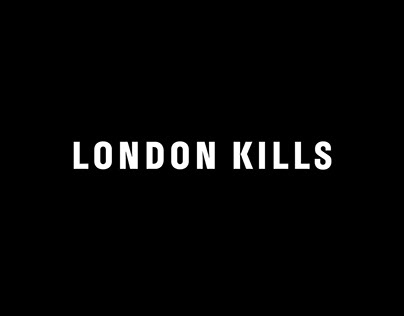 London Kills logo and typeface