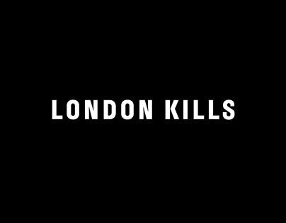 London Kills logo and typeface