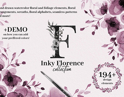 Inky Florence Collection
