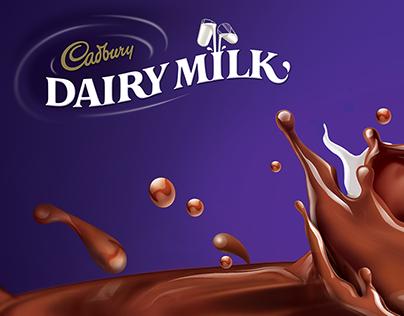Cadbury Dairy Milk - Hoarding