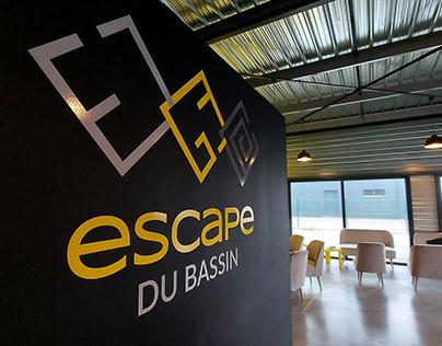 ESCAPE DU BASSIN - Branding / Game design / Webdesign