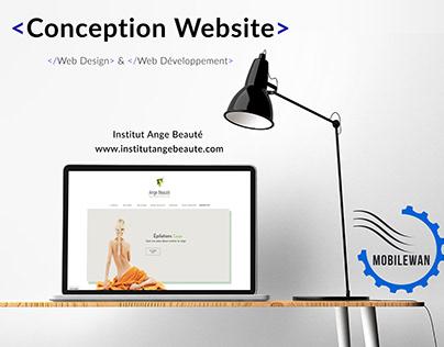 Siteweb Ange Beauté
