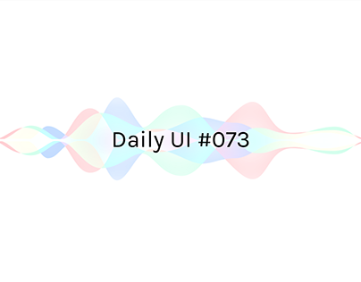 Daily UI 73