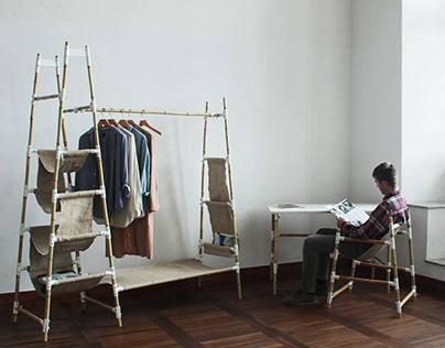 Furniture for nomads - Meble współczesnego nomada