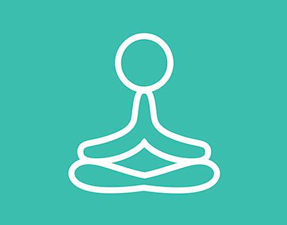 namaste yoga & therapy // logotype design