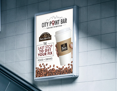 City Point Bar Advertising Signs