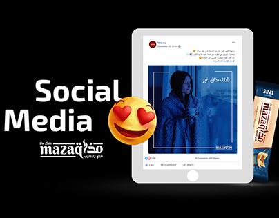 Social Media Design - Mazaq.