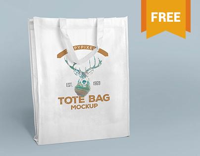 Free Tote Bag Mockups Vol. 1