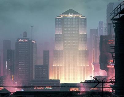 Gotham City | Hugh Ferriss Challenge