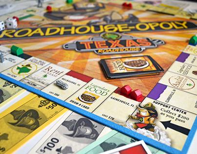 Monopoly Board - Texas Roadhouse
