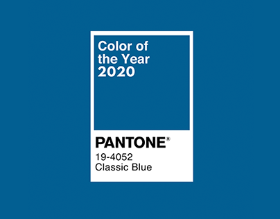 Pantone Color of the Year 2020 - Motion Graphics