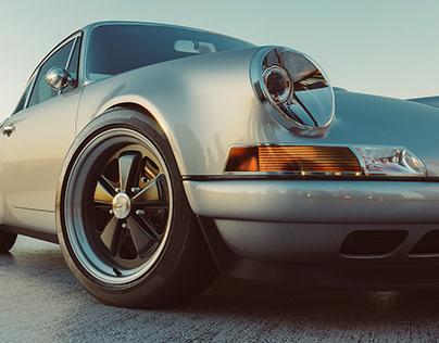 Singer Porsche 964 CGI